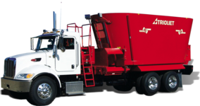 Truckmount voermengwagen